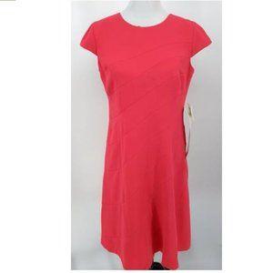 New Anne Klein 10 Dress Sleeveless Knee Length